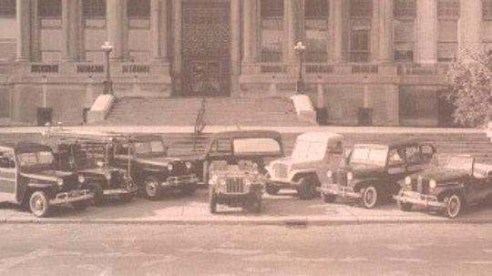 1945-1952 Jeep: Willys Postwar Jeep