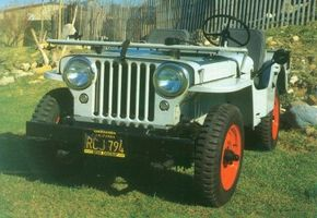 The Jeep CJ-2A was highly successful model; over its five-year life span, 214,202 were built.