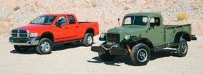 An off-road option group for the Dodge Ram 2500 pickup has been named for the Power Wagon.