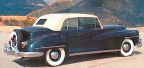 The rear of the Chrysler Continental had the look of a Lincoln Continental coupe.