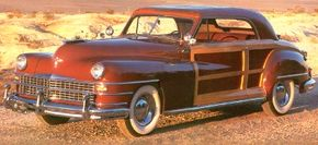 """The 1946 Chrysler Town & Country Hardtop was generally known to Town & Country afficionados as """"The Wallace car."""" See more classic car pictures."""