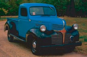 Introduced for 1939, Dodge's TC series trucks were renamed WC in 1942, despite being little-changed. The 1946 Dodge WC pickup is shown here. See more classic truck pictures.