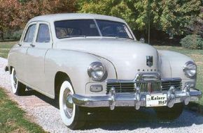The 1947 Kaiser Special debuted at a time when Kaiser-Frazer was attempting to compete with the Big Three automakers. See more classic car pictures.