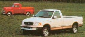 Modern Ford F-Series trucks trace their lineage back more than 50 years.
