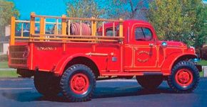 The Dodge Power Wagon was a World War II truck outfitted for civilian duty. It continued in production until 1968. This is a 1948 Dodge Power Wagon. See more classic truck pictures.