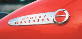 The Harley-Davidson emblem came to be associated with quality in the post-war years.
