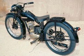 Despite its relative lack of power, the 1948 Harley- Davidson S-125 proved popular with the buying public. See more motorcycle pictures.