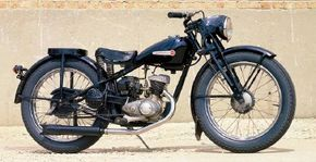 The Harley-Davidson S-125 wasn't Harley's usual heavy, powerful bike, but was desirable enough to enjoy a 12-year model run.