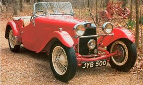 The 1948 HRG 1500 Roadster was a classic British open two-seater. See more classic car pictures.