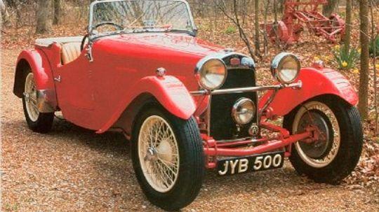 1948 HRG 1500 Roadster
