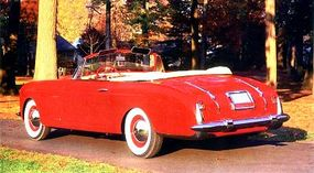 Mounted on a 1939 One Twenty chassis, this Vignale