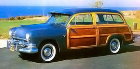 Finding new-old stock wood is difficult today, one of the major obstacles in a restoration. But the result is well worth the effort involved, as beautifully demonstrated by this 1951 Ford Country Squire.