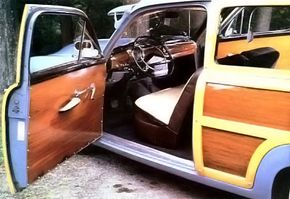 The wagons were offered only in two-door form.