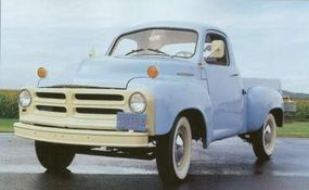 The new 1954 Studebaker trucks, dubbed the 3R, had a single-pane windshield and other changes.
