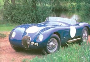 A meticulously restored example of the rare C-type competition roadster, which decisively proved the mettle of Jaguar's advanced dohc six.