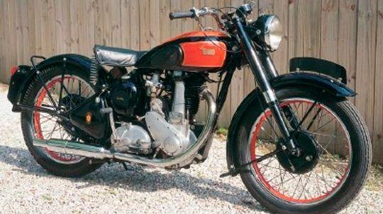 1949 BSA B33