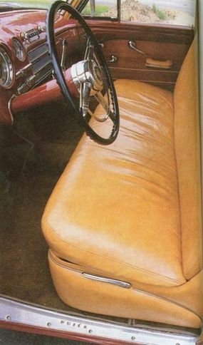 Weighing in at 4,490 lbs., the 1949 Roadmaster was the heaviest Buick car at the time.