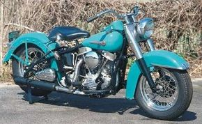 """The big Harleys were now called """"Hydra-Glide"""" in reference to the new telescopic forks."""