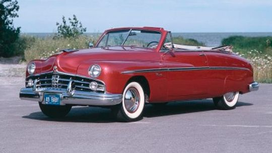 1949 Lincoln Convertible Coupe