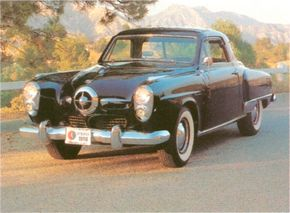 The bullet-nose Studebaker Commander drew controversy wherever it went, but it sold well. See more classic car pictures.