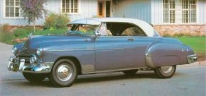 Chevrolet was the first low-priced make to bring out a hardtop, the swank-trimmed 1950 Bel Air. See more classic car pictures.