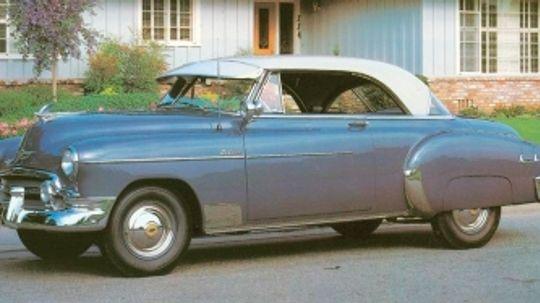 1950, 1951, 1952 Chevrolet Bel Air