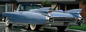 The 1959 Cadillac Eldorado Biarritz epitomized the extravagantly styled models of the 1950s. See more pictures of classic cars.