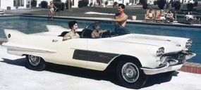 Cadillac developed two-seat fantasy cars in the 1950s, including this 1959 Cadillac La Espada show car.