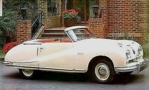 The 1950 Austin A90 Atlantic Convertible was designed to appeal to U.S. tastes. See more classic car pictures.