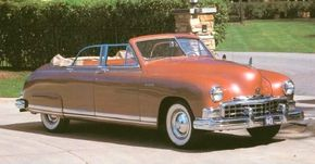 The 1950 Frazer Manhattan convertible was the only postwar convertible sedan until Lincoln fielded one in 1961. See more classic car pictures.