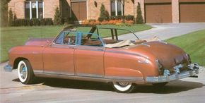 The 1950 Frazer Manhattan convertible was flawed in that the window frames didn't retract, but its rarity makes it a hot collectible now.