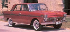 The 1950s Willys concept cars led to this restyled Aero-Willys 2600, which was introduced to Brazil in 1963. The small sedan was a South American sales success.