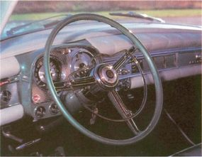 The Chrysler Imperial's part-leather interior added to its luxurious image -- and its hefty price tag.