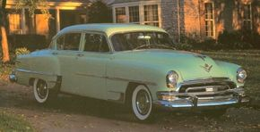 The 1951-1954 Chrysler New Yorker wasn't stylistically breathtaking, but its advanced engineering drew applause. See more classic car pictures.