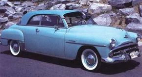 A late addition to the 1951 line, the original Plymouth Belvedere completed Chrysler's hardtop fleet.