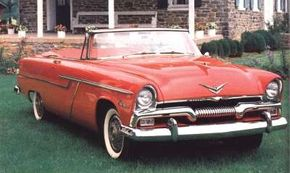 """Sexy """"Forward Look"""" styling made Plymouth much more competitive with Ford and Chevy for 1955."""