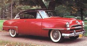 Despite all-new styling, the 1953 Cranbrook Belvedere was stubby and awkward.