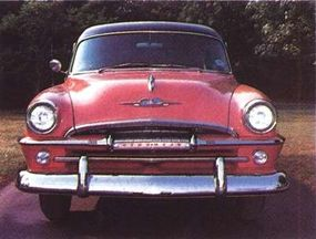 The 1954 Plymouth Belvedere got a minor facelift with a new grille.