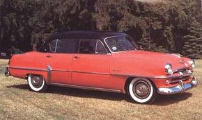 Belvedere became Plymouth's top-line series for 1954.