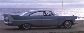 This 1958 Sport Coupe represents Belvedere's last season as Plymouth's top full-line series.