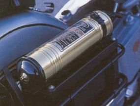 The Harley-Davidson Police Special came equipped with a fire extinguisher.