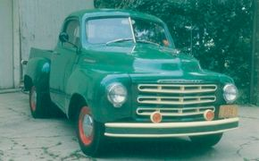 Styling of Studebaker's pickup went virtually unchanged from 1949 through 1953. The 1951 Studebaker 2R5 pickup is shown here. See more classic truck pictures.