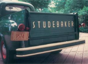 The 1951 Studebaker 2R5 pickup had a double-walled cargo box years ahead of most competitors.