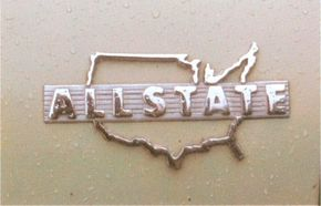 This logo was one of a few exterior features differentiating the Allstate from the Henry J.
