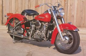 By 1952, Harley models such as the FL Hydra-Glide were equipped with the new Panhead engines.