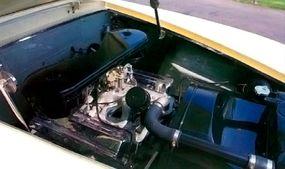 The Red Ram V-8 was a tweaked Dodge Hemi.