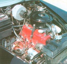 The first-series ZA model ran through 1956 and was                              powered by a 60-horsepower 1.5-liter engine                                            developed by BMC stablemate Austin.