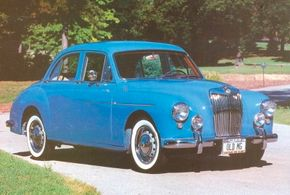 Whether ZA or ZB, Magnettes rode a 102-inch wheelbase. The 1958 ZB showed off the chrome fender/door spear that replaced the curved front-fender brightwork on the ZA.