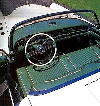 The Wildcat I received new leather for the interior, including the dashboard and door panels.