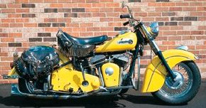 As the last Indian motorcycle, the 1953 Chief is among of the most collected bikes from the great American brand. See more motorcycle pictures.